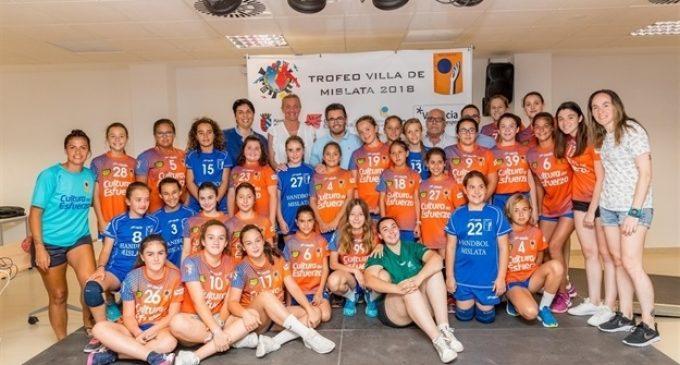 El Trofeu d'Handbol de Mislata reunirà aquest cap de setmana a més de 800 jugadors de tota Espanya