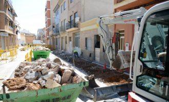Comencen les obres de renovació de voreres i xarxes d'aigua potable als carrers Sant Joaquim i Sant Ramon