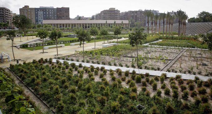 Un contenedor cultural en el Parque Central de València