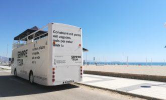 """""""Sempre teua. La teua llengua"""" arriba a les platges valencianes durant l'agost"""