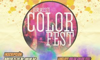 """Burjassot, ple de colors i diversió amb la """"Color Fest"""""""