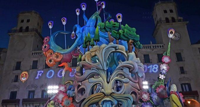 Puig anuncia que el 24 de junio, día de la Cremà de las Fogueres de Alicante, será festivo en la Comunitat Valenciana