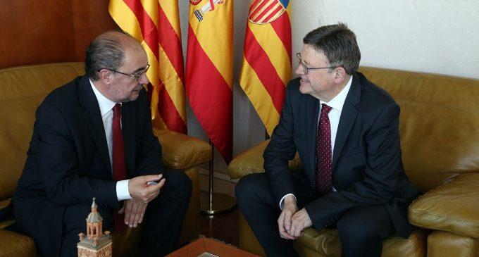 Puig i Lambán destaquen la importància per a Espanya de reivindicar a Europa el corredor Càntabre-Mediterrani