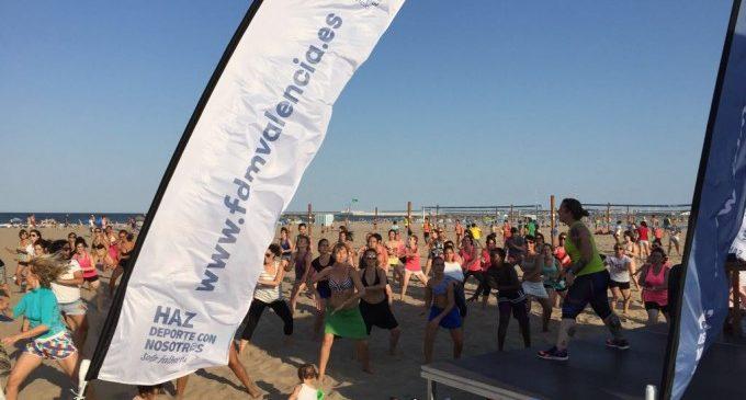 Activitats esportives gratuïtes cada dia a la Malva-rosa