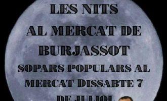 """Gastronomia y música en la nova edició de """"Nits al Mercat"""" de Burassot"""
