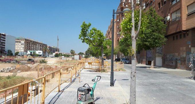 Arrancan las obras del PAI de Sant Pau en Malilla