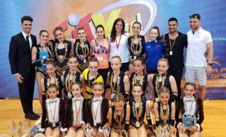 Paula Serra va tornar a brillar en el Campionat d'Espanya de Fit Kids a Benidorm