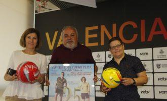 El Trofeu Ciutat de València de Futbol Platja celebra el primer partit mixt de la seua història