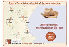 Diputació i ajuntaments organitzen visites guiades per a mostrar el patrimoni arqueològic valencià