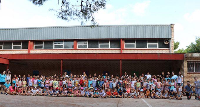 Rècord d'assistència a les escoles d'estiu de Rafelbunyol