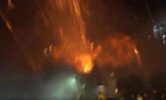L'explosió de Cangas (Astúries) se salda amb un ferit per cremades i una vintena pel trencament de cristalls