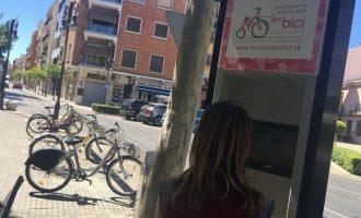El servei 'Horta Sud en bici' triplica l'ús de bicicletes en quatre anys