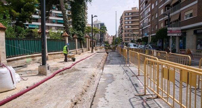 Mislata comença les obres de remodelació de l'Avinguda Blasco Ibáñez