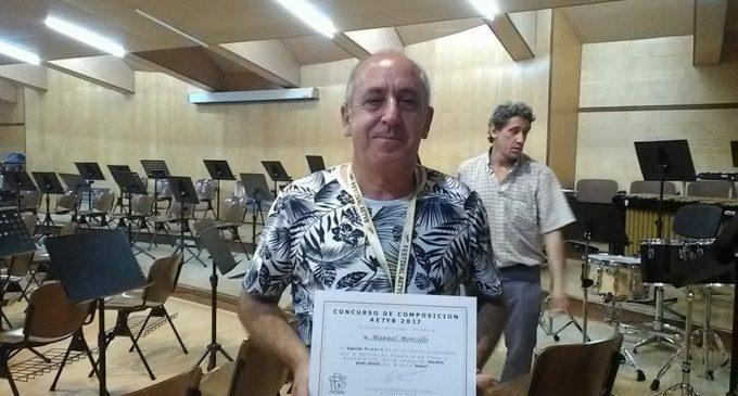 Manuel Morcillo recull el segon premi del Concurs Nacional de Composició