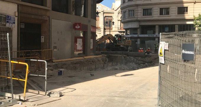 La EMT gestionará el parking de la Plaza de Brujas