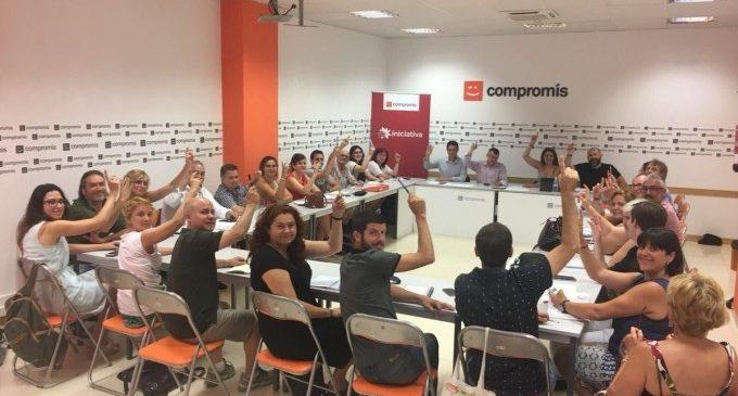 Mónica Oltra, portaveu de Compromís per unanimitat
