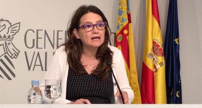 """Oltra valora el diàleg de Sánchez i Torra però demana que """"la solució"""" no siga """"a costa de l'interés dels valencians"""""""