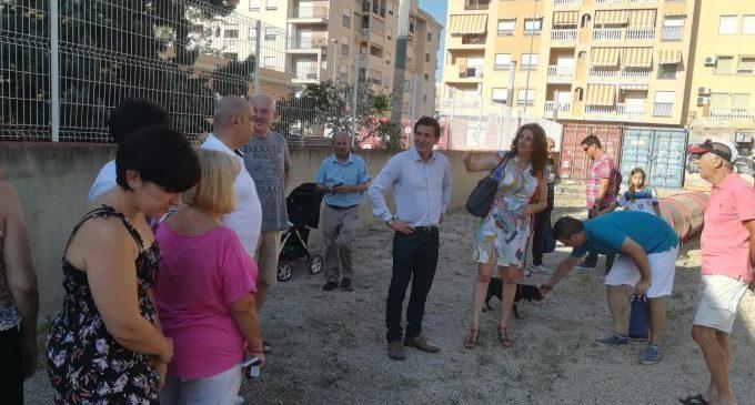 El nou parc per a gossos de Burjassot ja està obert en el carrer María Ros
