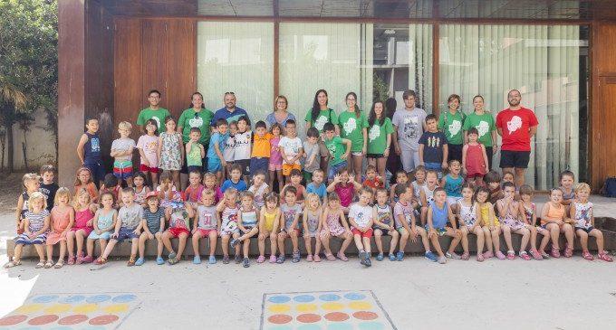 Més de 330 participants gaudeixen de les tres escoles d'estiu municipals de Picassent