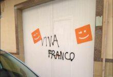 Denuncien l'aparició de pintades feixistes a la Pobla de Vallbona