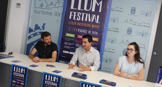 Llíria crea el LLUM Festival de músiques del món
