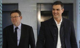 """PP critica la """"submissió"""" de Puig al Govern en finançament i diu que s'ha convertit en el """"pagafantas"""" de Sánchez"""