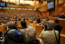 Compromís urge al PSOE a acelerar la presencia de Puig en el Senado ante la paralización de la petición del Consell