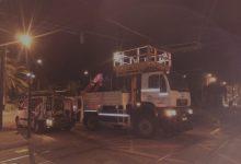La circulació del tramvia recupera la normalitat després de reparar-se l'enganxada de la catenària per un camió