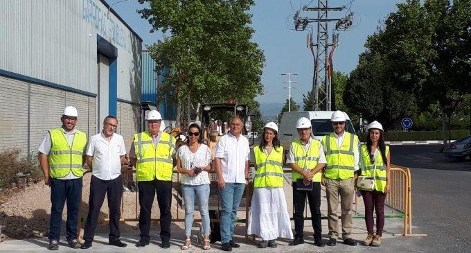 Inicien el soterrament de les línies elèctriques del polígon Pla de Rascanya