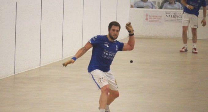 El trinquet de Xeraco decideix el rival de Moltó i Néstor en la final de la Copa de Raspall