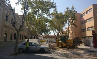 Ja en marxa les obres del carrer Galícia per a convertir-lo en zona de vianants