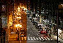 L'Ajuntament redueix el consum elèctric de l'enllumenat públic