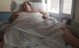 """El defensor del pacient critica la """"falta d'humanitat"""" pel trasllat del pacient de 350 quilos"""