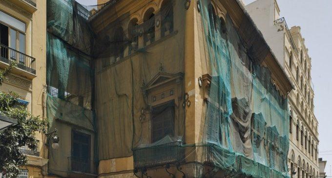 Arranquen les obres per a convertir el Palau Valeriola de València en un centre d'art