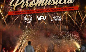 Quart de Poblet vivirá por primera vez una espectacular piromusical a cargo de Ricasa