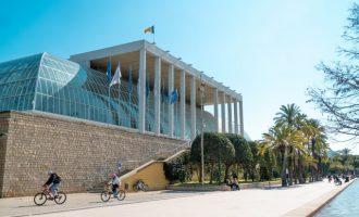 Es desprén una part del sostre de la Sala Rodrigo del Palau de la Música de València