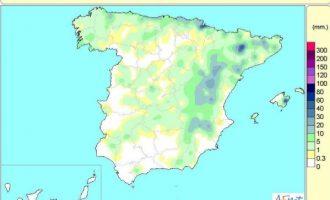 Las lluvias acumuladas desde octubre no llegan al 75% de lo habitual en el litoral de Valencia y Castellón