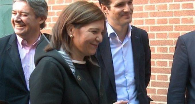 "Bonig sobre el suport de Casado: ""Ha dit que seria una magnífica presidenta, doncs jo encantada"""