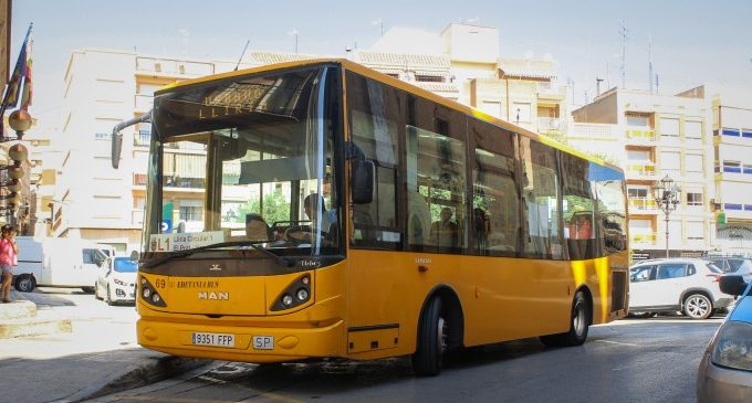 Llíria oferirà un servici a demanda per al bus municipal