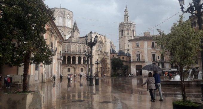 La Comunitat Valenciana està en risc per pluges que poden deixar fins a 20 litres per metre quadrat