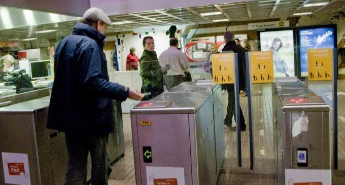 Metrovalència recupera el seu horari habitual, però manté la vaga prevista per a gener