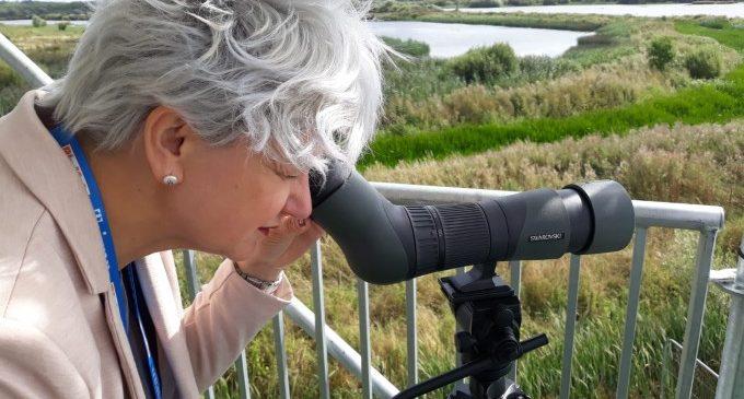 Pilar Moncho reivindica el turisme ornitològic valencià