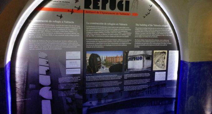 Més de 16.600 persones han visitat els refugis antiaeris de València
