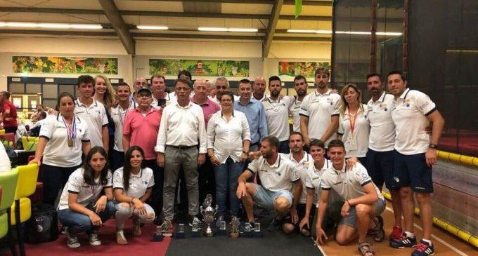 La selección valenciana de pilota regresa a casa como campeona absoluta de Europa
