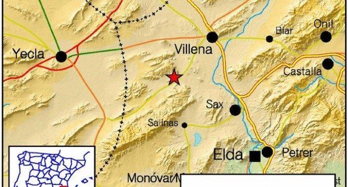 Salinas registra un terratrémol amb una magnitud de 2,7