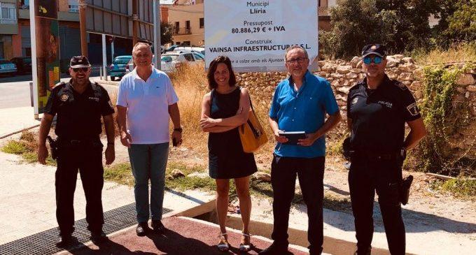 Finalitzen les obres del nou carril bici que connectarà amb les urbanitzacions del nord-oest de Llíria