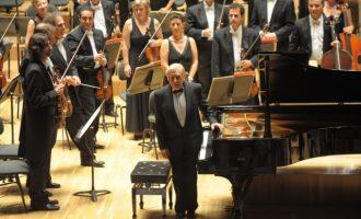 El pianista Joaquín Achúcarro torna al Palau amb l'Orquestra de València