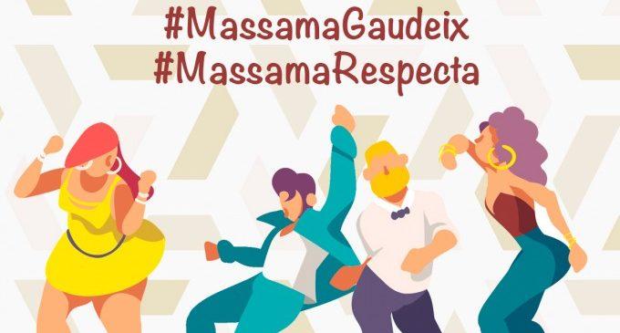 Massamagrell desplegarà una campanya en contra d'agressions sexistes i sexuals durant les seues Festes Majors de 2018