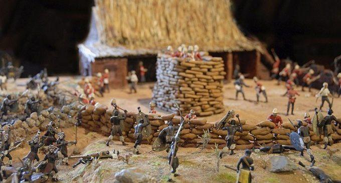 2.500 soldats de plom recreen la rebel·lió zulu contra l'Imperi Britànic
