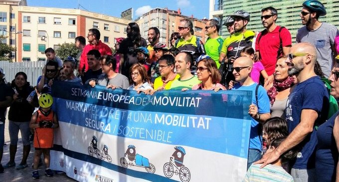 Tot a punt per a celebrar les activitats de la Setmana de la Mobilitat de Xirivella